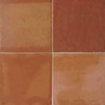 "Daltile Saltillo: Unsealed Natural Clay 12"" x 12"" Clay Tile 9999321911"