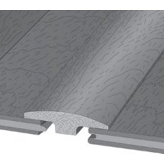 "Wicanders Series 100 Tile:  T-Mold Slate Algae - 78"" Long"