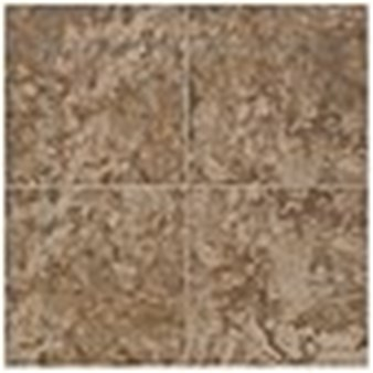 "Mohawk Pavin Stone: Brown Suede 6"" x 6"" Ceramic Tile 13823"