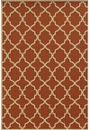 Shaw Living Inspired Design Chateau Garden (Brown) Rectangle 3'10