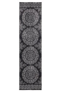 Nourison Collection Library Ashton House (AS03-BLK) Runner 2'0