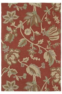 Nourison Collection Library Hamilton House (HH03-BUR) Runner 2'0