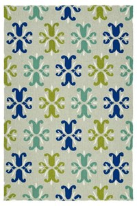Nourison Nourtex India House (IH01-BUR) Rectangle 2'6