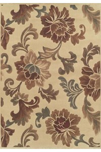 Nourison Liz Claiborne Home Radiant Impressions (LK01-BGE) Rectangle 5'6