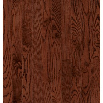 "Bruce Hardwood Flooring by Armstrong Manchester Strip:  Cherry 3/4"" x 2 1/4"" Solid Red Oak Hardwood C218"