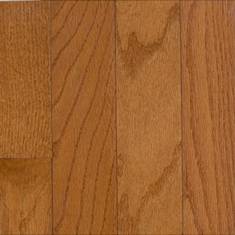 "Bruce Hardwood Flooring by Armstrong Manchester Strip:  Gunstock 3/4"" x 2 1/4"" Solid Red Oak Hardwood C211"