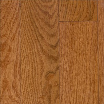 "Bruce Hardwood Flooring by Armstrong Manchester Plank:  Gunstock 3/4"" x 3 1/4"" Solid Red Oak Hardwood C1211"