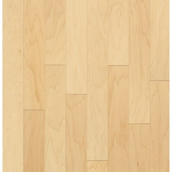 "Bruce Turlington American Exotics Maple: Natural 3/8"" x 5"" Engineered Maple Hardwood E4500Z"