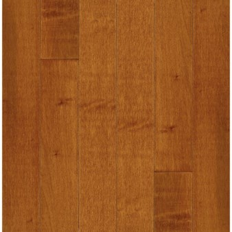 "Bruce Kennedale Prestige Plank Maple: Cinnamon 3/4"" x 3"" Solid Maple Hardwood CM1733Y"