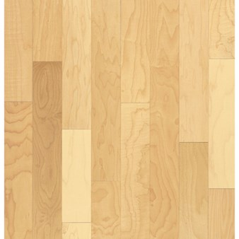 "Bruce Kennedale Prestige Plank Maple: Natural 3/4"" x 3"" Solid Maple Hardwood CM1700Y"