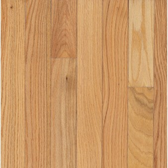 "Bruce Waltham Strip Oak: Country Natural 3/4"" x 2 1/4"" Solid Oak Hardwood C8210"