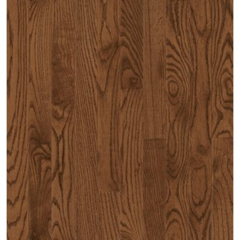 "Bruce Dundee Plank Red Oak: Saddle 3/4"" x 5"" Solid Red Oak Hardwood CB5217Y"