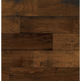 "Bruce American Vintage Walnut: Mesa Brown 3/8"" x 5"" Engineered Walnut Hardwood EWT75LG"