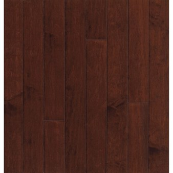 "Bruce Turlington American Exotics Maple: Cherry 3/8"" x 3"" Engineered Maple Hardwood E4308Z"
