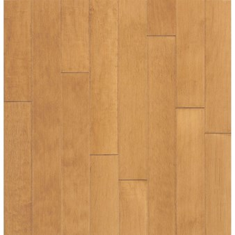 "Bruce Turlington American Exotics Maple: Caramel 3/8"" x 3"" Engineered Maple Hardwood E4336Z"