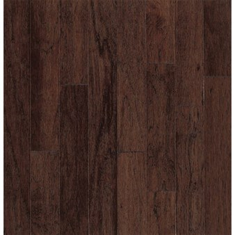 "Bruce Turlington American Exotics Hickory: Molasses 3/8"" x 5"" Engineered Hickory Hardwood E3685"