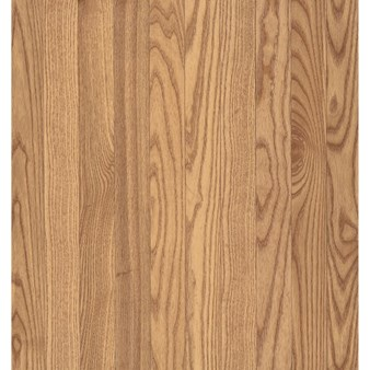 "Bruce Westchester Plank Oak: Natural 3/4"" x 3 1/4"" Solid Oak Hardwood CB720"
