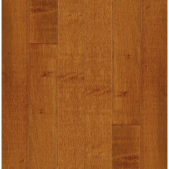 "Bruce Kennedale Prestige Plank Maple: Cinnamon 3/4"" x 5"" Solid Maple Hardwood CM5733Y"