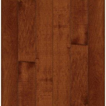 "Bruce Kennedale Prestige Plank Maple: Cherry 3/4"" x 5"" Solid Maple Hardwood CM5728Y"