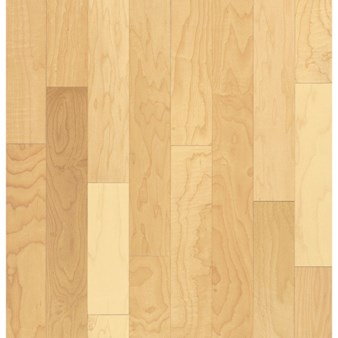 "Bruce Kennedale Prestige Plank Maple: Natural 3/4"" x 5"" Solid Maple Hardwood CM5700Y"