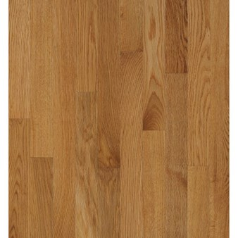 "Bruce Natural Choice Oak: Desert Natural 5/16"" x 2 1/4"" Solid Oak Hardwood C5061"