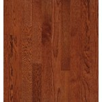 "Bruce Natural Choice Oak: Amber 5/16"" x 2 1/4"" Solid Oak Hardwood C5060"