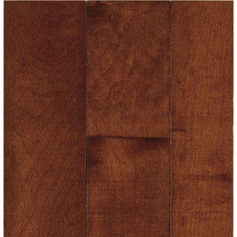 "Bruce Natural Choice Maple: Cherry 5/16"" x 2 1/4"" Solid Maple Hardwood C5008MLG"