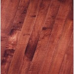 "Bruce Kennedale Strip Maple: Cherry 3/4"" x 2 1/4"" Solid Maple Hardwood CM728"