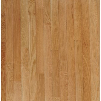 "Bruce Fulton Strip Oak: Seashell 3/4"" x 2 1/4"" Solid Oak Hardwood CB1330"