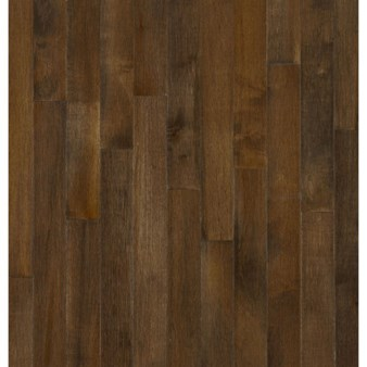"Bruce Kennedale Prestige Plank Maple: Cappuccino 3/4"" x 3"" Solid Maple Hardwood CM1745Y"