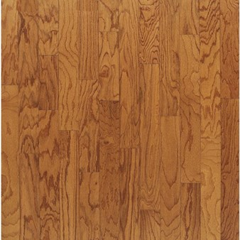 "Bruce Turlington Plank Oak: Butterscotch 3/8"" x 5"" Engineered Oak Hardwood E556"