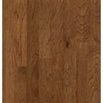 "Bruce Turlington Lock&Fold Hickory: Falcon Brown 3/8"" x 3"" Engineered Hickory Hardwood EHK84LG"