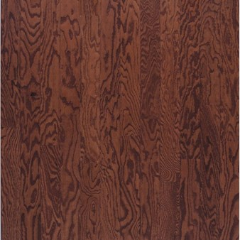 "Bruce Turlington Lock&Fold Oak: Cherry 3/8"" x 3"" Engineered Oak Hardwood EAK08LG"