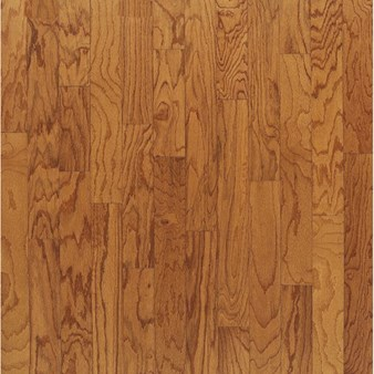"Bruce Turlington Plank Oak: Butterscotch 3/8"" x 3"" Engineered Oak Hardwood E536"