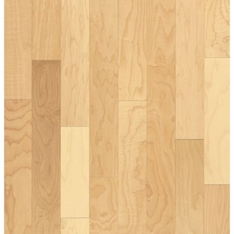 "Armstrong Sugar Creek Solid Plank Maple: Natural 3/4"" x 3 1/4"" Solid Maple Hardwood SCM131NALGY"