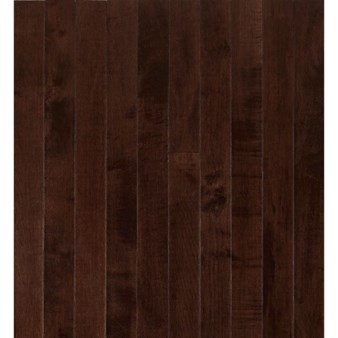 "Armstrong Sugar Creek Solid Strip: Cocoa Brown 3/4"" x 2 1/4"" Solid Maple Hardwood SCM631COLGY"