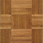 "Armstrong Urethane Parquet Oak: Honey 7/16"" x 12"" Solid Oak Hardwood 211140"