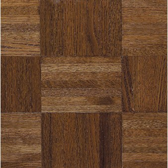 "Armstrong Urethane Parquet Oak: Windsor 7/16"" x 12"" Solid Oak Hardwood 212120"