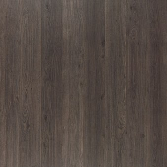 Quick-Step Eligna: Dark Grey Varnished Oak Plank 8mm Laminate U1305