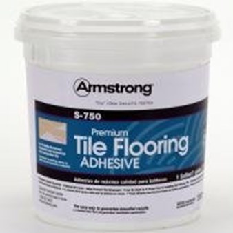 Armstrong S-750 Tile Adhesive Cream 1 Gallon Bucket