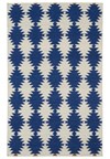 Mohawk Select Versailles (58900) Royal Entrance Blue (58053) Rectangle 5'3