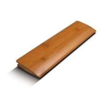"USFloors Natural Bamboo Wovens Collection: Reducer Corboo Horizontal Mahogany - 72"" Long"