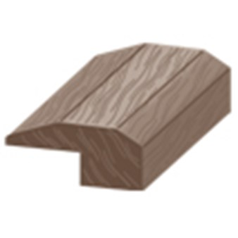 "Columbia Barton Hickory: Threshold Toasted Hickory - 84"" Long"