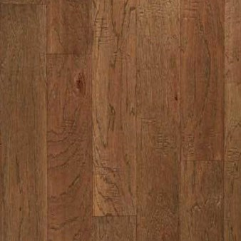 "Columbia Hand Scraped Pagosa: Wagon Wheel Hickory 3/8"" x 5"" Engineered Hardwood PGH513F"