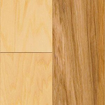 "Mannington American Hickory: Natural 3/8"" x 3"" Engineered Hardwood AMH03NAL1"