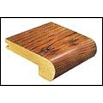 "Mannington Chesapeake Hickory: Stair Nose Amber - 84"" Long"