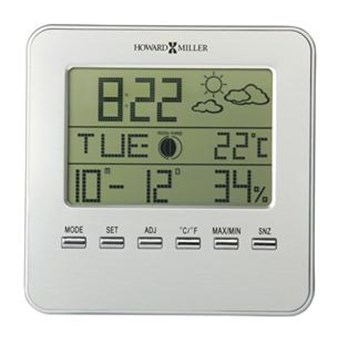 Howard Miller 645-693 Weather View Alarm Clock