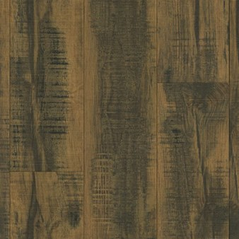 Armstrong Architectural Remnants: Skip Planed Blackened Brown 12mm Laminate L3107