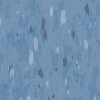 Tarkett Azrock VCT: Dungaree Blue Vinyl Composite Tile V-249