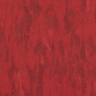 Tarkett Azrock VCT: Statement Red Vinyl Composite Tile V-269
